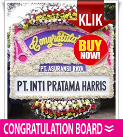 CONGRATULATION BOARD